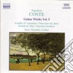 Napoleon Coste - Guitar Works Vol.5 cd musicale di NapolÉon Coste