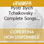 Complete songs vol.2 09 cd musicale di TCHAIKOVSKY