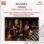 Athalia (oratorio in 3 atti) cd musicale di Handel georg friedri