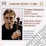 Musica x vlc e orchestra romantica cd musicale