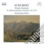 Sonata per pianoforte d 850, d575 op.pos cd musicale di Franz Schubert