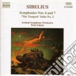 Sinfonia n.6, n.7, la tempesta (suinte n cd musicale di Jean Sibelius