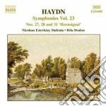 Symphonies nos.27 28 & 31 cd musicale di Joseph Haydn
