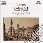 Sinfonia n.66, 67, 68 cd musicale di Haydn franz joseph