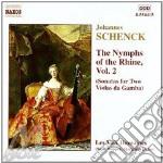 Le nymphe di rheno vol.2 cd musicale di Johannes Schenck