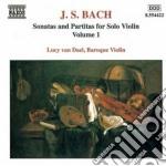 Sonate e partite per violino solo, vol.1 cd musicale di Johann Sebastian Bach