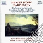 Ouvertures: sogno di una notte di mezza cd musicale di Felix Mendelssohn
