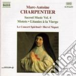 Musica sacra, vol.4 cd musicale di Marc-ant Charpentier