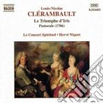 Le triomphe d'iris cd musicale di Louis-ni Clerambault