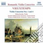 Concerto x vl n.1 op.10, n.4 op.31 cd musicale di Henry Vieuxtemps