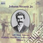 Selezione di 100 composizioni vol.6: die cd musicale di Johann Strauss