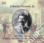 Selezione di 100 composizioni vol. 7 cag cd musicale di Johann Strauss