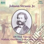 Selezione di 100 composizioni vol.8: ind cd musicale di Johann Strauss