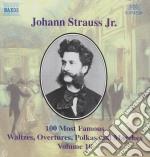 Selezione di 100 composizioni vol.10: de cd musicale di Johann Strauss