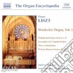 Organ works vol.1 cd musicale di LISZT