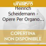 Works for organ vol.3 cd musicale di SCHEIDEMANN