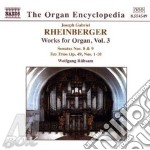 Organ works volume 3 cd musicale di RHEINBERGER