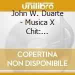 Guitar music cd musicale di John Duarte