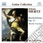 Bardenklange op.13 cd musicale di Mertz johann kaspar