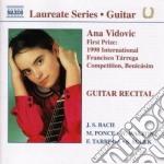Guitar recital cd musicale di Ana Vidovic