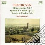 Quartetti x archi (integrale) vol.7: qua cd musicale di Beethoven ludwig van