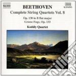 Quartetti x archi (integrale) vol.8: qua cd musicale di Beethoven ludwig van