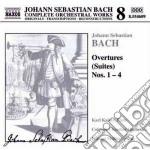 Opere x orchestra (integrale) vol.8: ouv cd musicale di Johann Sebastian Bach