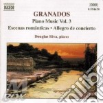 Piano music vol.3 cd musicale di Enrique Granados