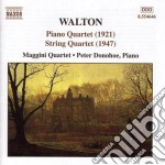 Quartetto x archi in la min, quartetto c cd musicale di William Walton