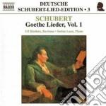 Goethe lieder, vol.1 cd musicale di Franz Schubert