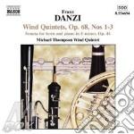 Wind quintets op.68 cd musicale di Franz Danzi