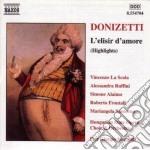 L'elisir d'amore (estratti) cd musicale di Gaetano Donizetti