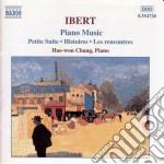 Opere x pf: petit suite, histoire, les r cd musicale di Jacques Ibert