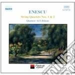 String quartets nos.1 & 2 cd musicale di Georges Enescu