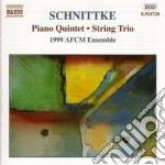 Quintetto x pf e archi, trio x archi, fu cd musicale di Alfred Schnittke