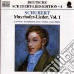 Lieder su testi di mayrhofer vol.1: d 80 cd musicale di Franz Schubert