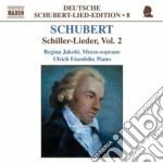 Lieder su testi di schiller vol.2: d 246 cd musicale di Franz Schubert