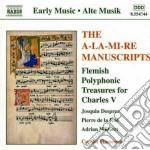 Dai manoscritti di alamire, composizioni cd musicale