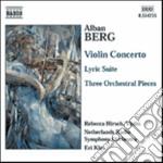 Concerto per violino, suite lirica, 3 pe cd musicale di Alban Berg