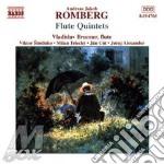 Flute quintets cd musicale di ROMBERG ANDREAS JAKOB
