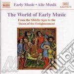 Antologia di brani dal medioevo all'alba cd musicale