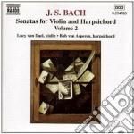 Sonate per violino, vol.2 cd musicale di Johann Sebastian Bach