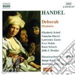 Deborah (oratorio) cd musicale di HANDEL GEORG FRIEDRI