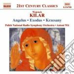 Angelus, exodus, victoria, krzesany cd musicale di Wojciech Kilar