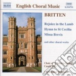 Opere corali cd musicale di Benjamin Britten