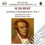 Lieder - austrian contemporaries, vol.1 cd musicale di Franz Schubert