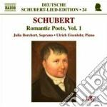 Schubert Franz - Lieder: Romantic Poets Vol.1 cd musicale di Franz Schubert