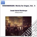Opere x organo (integrale) vol.4: sonate cd musicale di Rheinberger joseph g