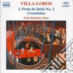 Opere x pf vol.2: a prole do bebe' n.2, cd musicale di Villa lobos heitor