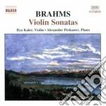 Sonate x vl (integrale) cd musicale di Johannes Brahms